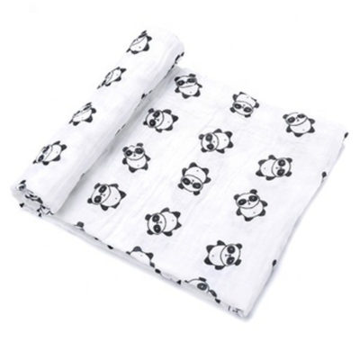 Hot Selling Popular 2&4&6&8 Layer Baby Organic 100% Cotton Bamboo Muslin Baby Blanket