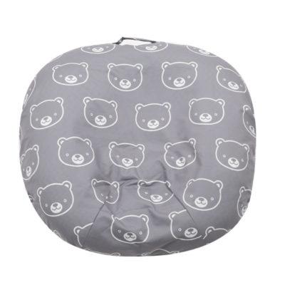 100% Cotton Custom Printing Portable Baby Sleep Positioner Newborn Lounger Bassinet Pillow