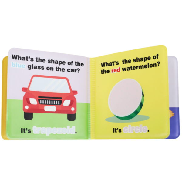 Wholesale My First Early Learning Sensory Magic Baby Bath Book Kids Bath Change Color Book With Sound
