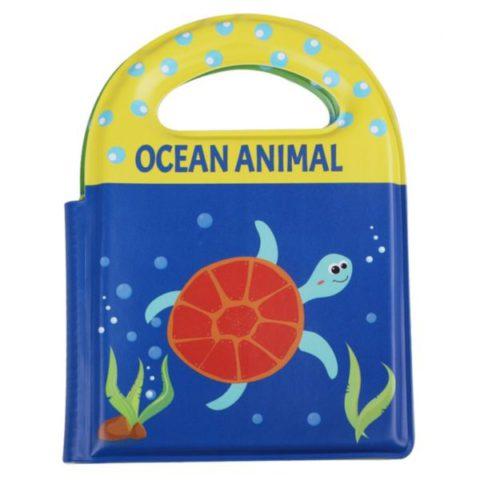 Educational Abc Soft Baby Bath Book With Handle Bathtime Toys For Kids