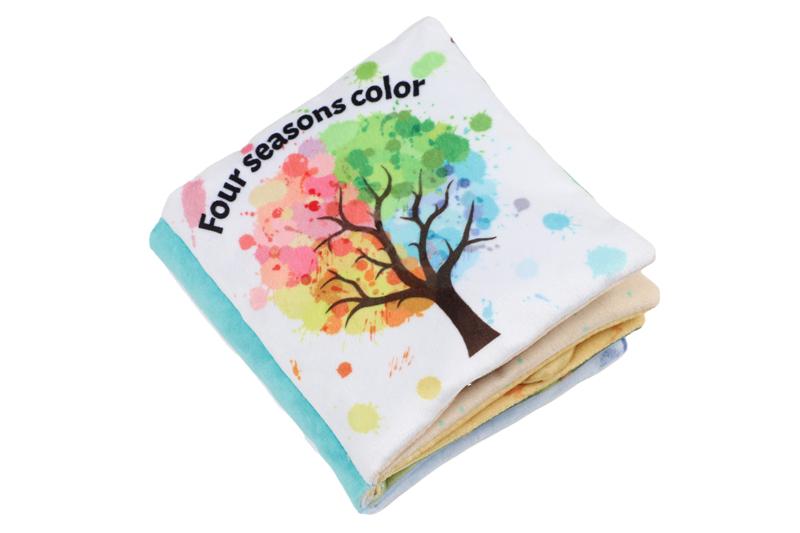 New Cloth Book: Four Seasons Color